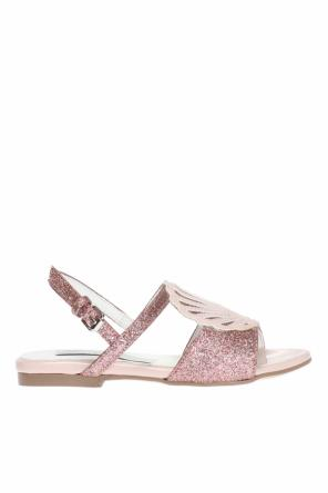 Shell-patched sandals od Stella McCartney Kids